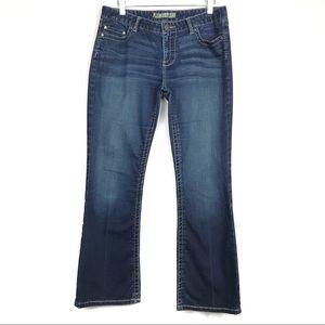 BKE Culture Stretch Dark Wash Boot Cut Jeans 31